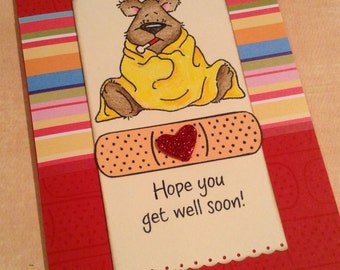 SALE!! Get Well Card
