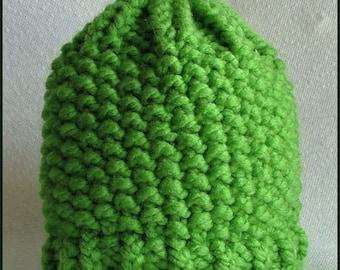 Child's Hand-Knit Beanie