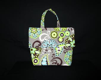 Flower pattern Bible Bag