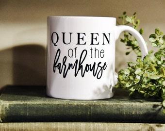 QUEEN of THE FARMHOUSE Coffee Mug