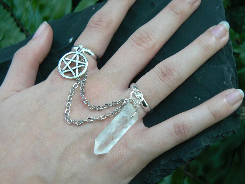 zoom - Wiccan Wedding Rings