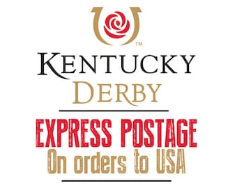 5 Days Express Postage to USA, for USA Kentucky Derby - Ordering to Late for Regular Airsure