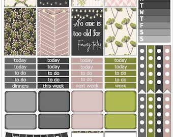 Flora | Weekly Printable Planner Kit