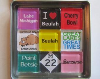 BEULAH, BENZONIA, Crystal Lake, Point Betsie, Platte River, M22, Up North Michigan, Michigan, Michigan Magnets, Northwest Michigan