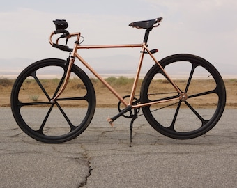 Vintage Single Speed Copper Bike