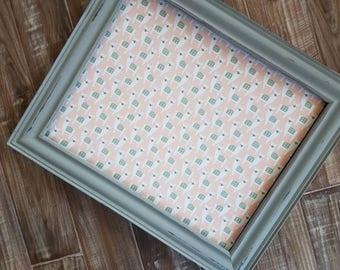 Light Gray Framed Llama Cork Board Xlarge Magnetic Board Many Sizes Play Room Large and Narrow PIn Board Llama Cork Board