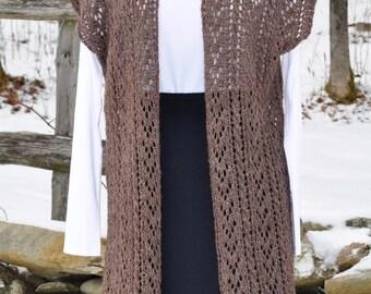 Lace Knit Tunic/Vest