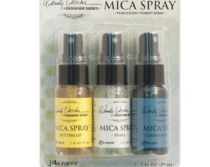 Ranger Wendy Vecchi MICA SPRAYS Pearlescent Pigment Spray - Pack of 3