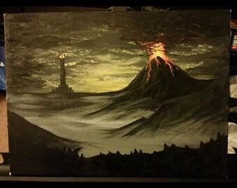 LOTR Mordor Painting