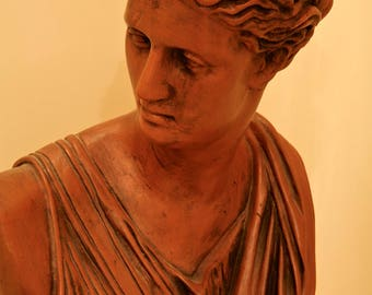 GRECO ROMAN BUST of Diana