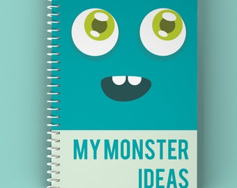 Monster Ideas Doodle Notepad - Reduced Price