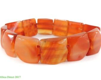 Carnelian Stone Bracelet Pakistan Small 117093
