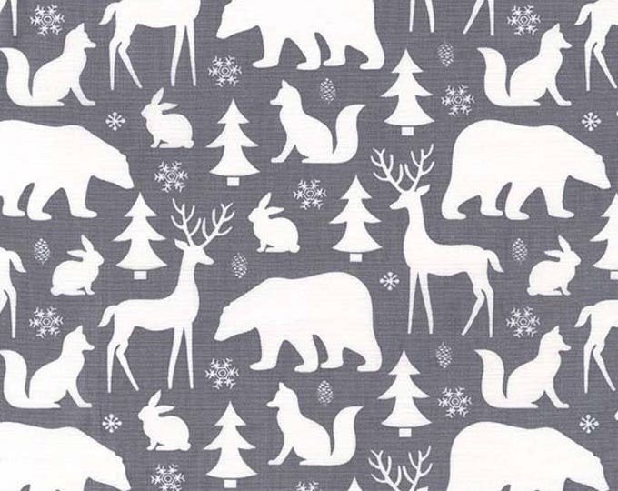 Woodland Winter by Michael Miller - Winter Friends Winter - Cotton Woven Fabric