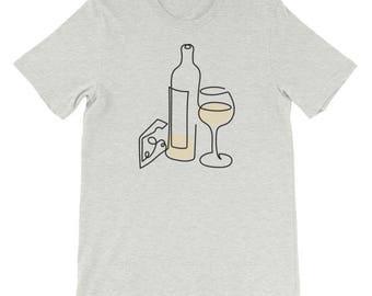 White Wine & Cheese T-shirt