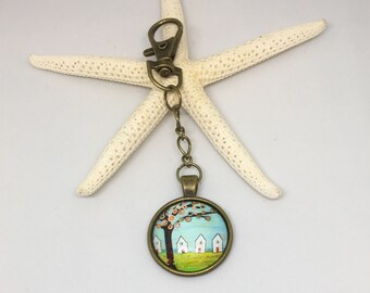 Teacher Gift Gift For Her Bag Charm Keyring