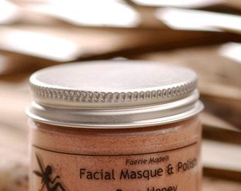 Miel de Rose de Masques pour le visage sec naturel/polonais