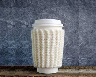 Valentines Coffee Cozy, Hygge Decor, Valentine Coffee Sleeve, Cup Cozy, Coffee Mug Cozy, Coffee Cup Cozy, Coffee Cup Sleeve, Rustic Gifts