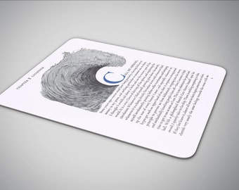 Moby Dick mouse pad