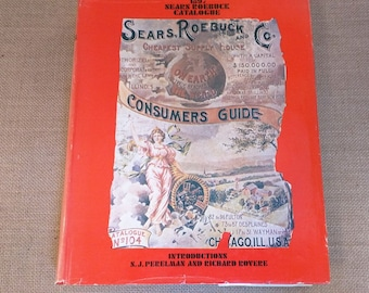 Sears Roebuck Catalogue 1897 Replica 1968 Reprint