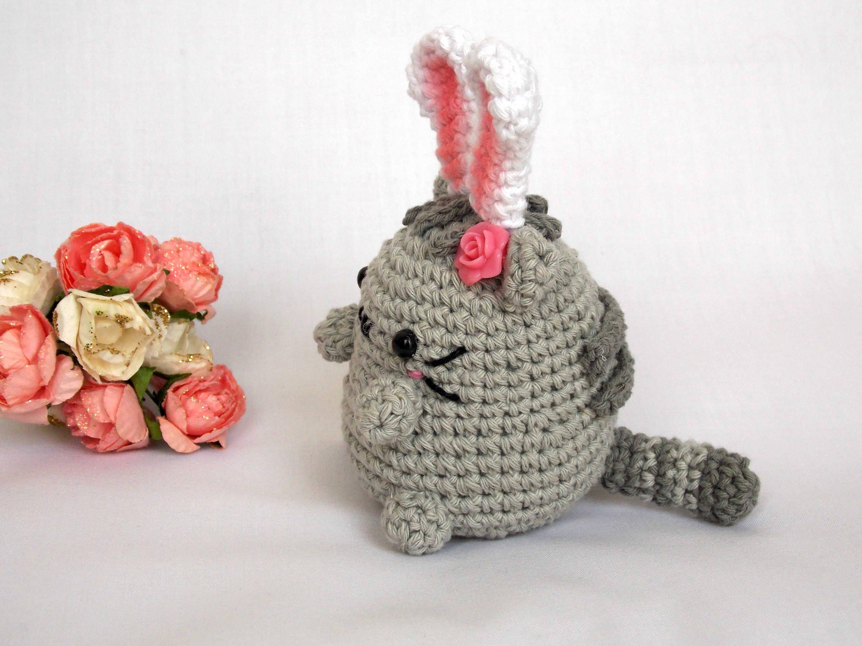 Asombroso Patrón De Crochet Pusheen Colección - Manta de Tejer ...