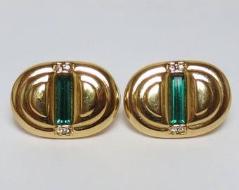 Vintage Swarovski Rhinestone Earrings
