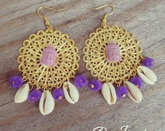Chique buddha earrings