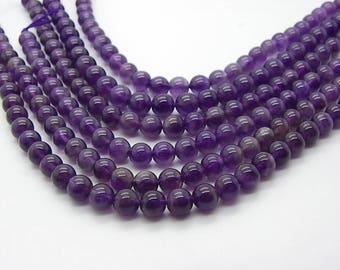 15 6 mm hole 1 mm natural purple amethyst