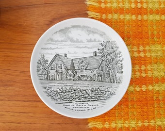 "Anne of Green Gables 5"" collector dish Cavendish PEI Staffordshire England Dish"