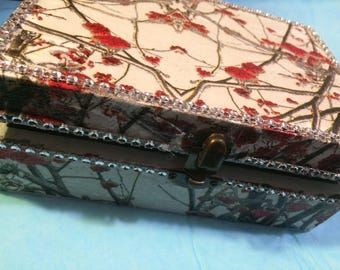 Beautiful playing cards storage box, playing cards, trading cards,
