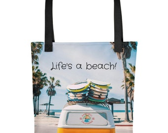Life's A Beach - Tote bag