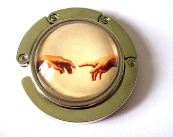 Catcher handbag - Michel Angel - the creation of Adam
