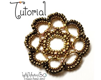 TUTORIAL Beaded Lace Medallions Part 4 of a Beaded Lace Adventure Series
