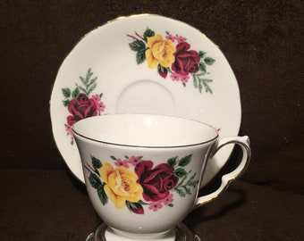 SALE - Queen Anne Teacup and Saucer