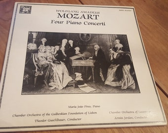 Wolfgang Amadeus Mozart - Four Piano Concerti Double LP (1982) MHS 824597 / Concerto Nos 26, 13, 27 and 20
