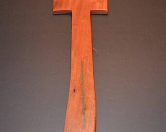 "Wood Cross with Turquoise;5""x14""x.5"";Baptism;Christening;Confirmation;Sympathy;Wedding;Graduation;Free Ground Shipping cc40TQ-1061617"