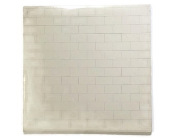 "Pink Floyd, ""The Wall"", vinyl record album, classic rock LP, mother, run like hell, roger waters, david gilmour"