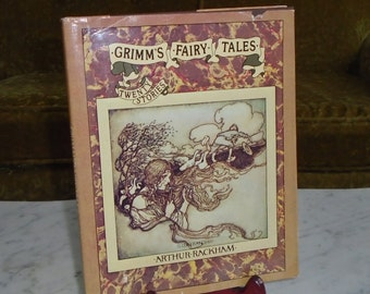 1973 Viking Press Grimm's Fairy Tales HC Book w DJ ~ 20 Stories