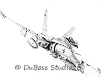 Marine CH-46 Helicopter drawing