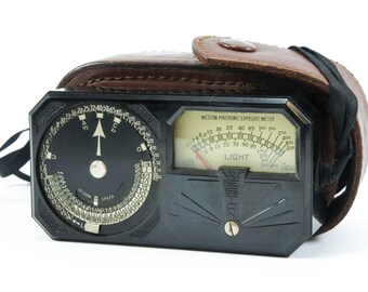 Vintage 1930s Weston Photronic Exposure Meter (Model 650)