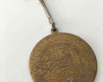 Vintage Cape Cod keychain. Made in germany