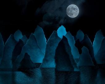 Paper Moonrise