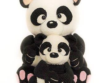 panda - crochet pattern by mala designs