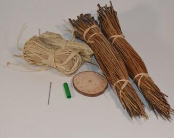 Pine needle basket starter kit