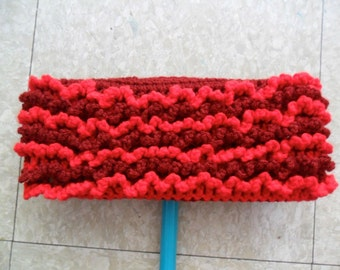 Red Swiffer Cloth - Red Floor Dusting Cloth - Crimson Swiffer Cloth - Crimson Floor Dusting Cloth - Resuable Swiffer Cloth - Washable Duster
