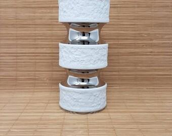 White Porcelain Vase - 1970s Porcelaine Vase - KPM Porcelain Vase - KPM Vase - Vintage Porcelain Vase -  SpaceAge- Scandinavian Design
