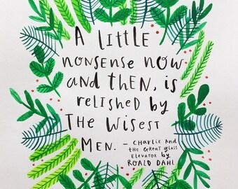 A Little Nonsense - Roald Dahl