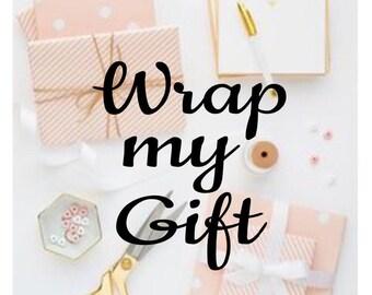 Wrap me, Gift Wrapping, Wrap my item, Christmas gift wrapping, Add a gift bag, Wrap my gift, Gift box, birthday gift wrap