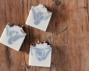 Wildflower Soap // Cold Process Soap // Handmade Soap // Floral Soap // Botanical Soap