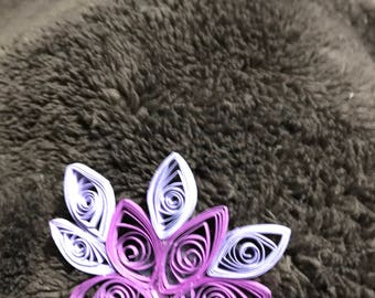 Quilling refrigerator magnets