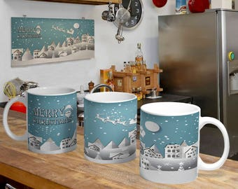 Christmas Digital Template Mug 2